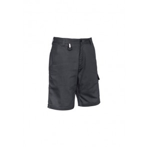 Syzmik Men's Rugged Cooling Cargo Short - Charcoal