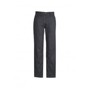 Syzmik Women's Plain Utility Pant - Charcoal Front