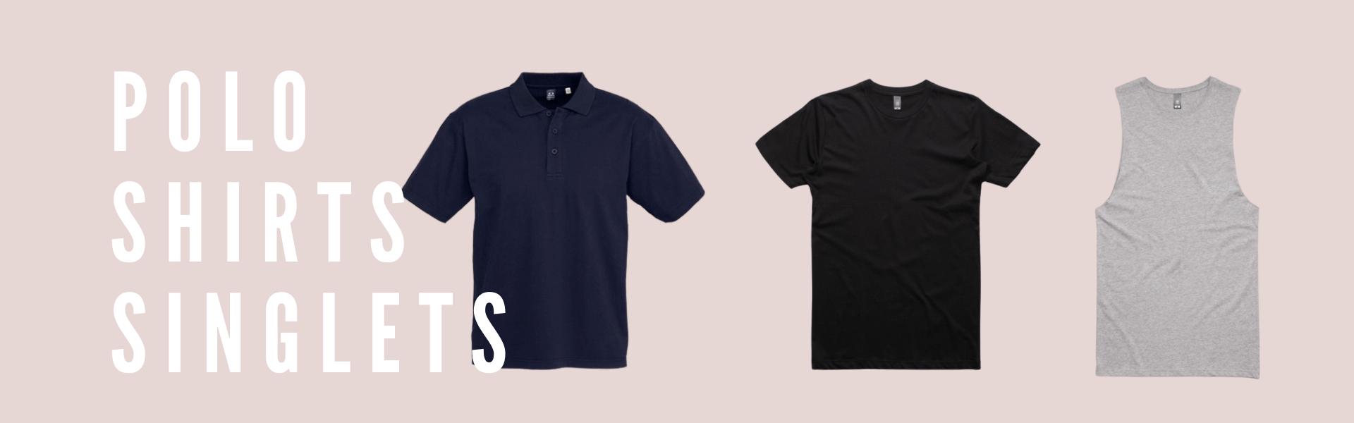 Polo Shirts Singlets