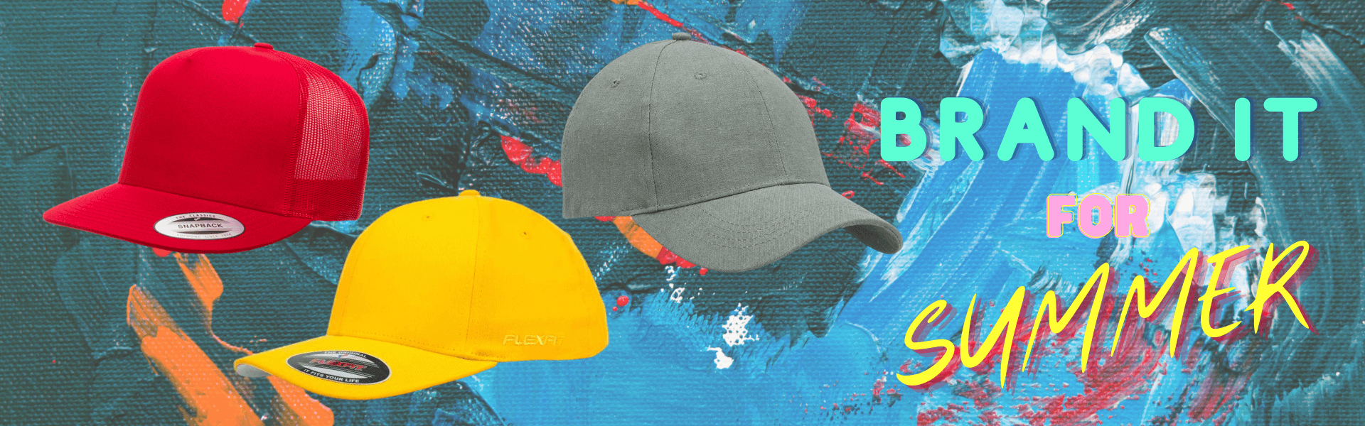Brand It for Summer Headwear